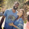 Baron Davis et Isabella Brewster, photo publiée sur le compte Instagram d'Isabella Brewster le 30 juin 2014