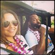 Isabella Brewster et Baron Davis, photo publiée sur le compte Instagram d'Isabella Brewster le 28 mai 2014