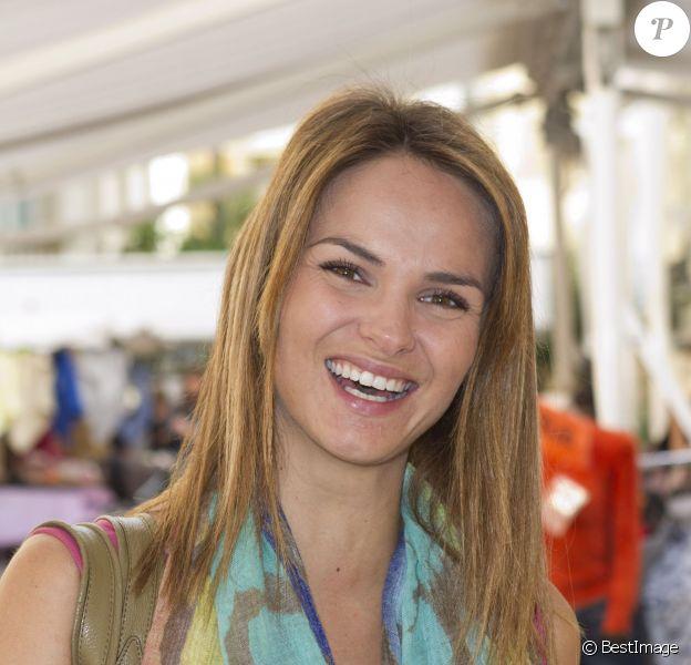 Géraldine Lapalus au Festival de la télévision de Beausoleil en 2012.