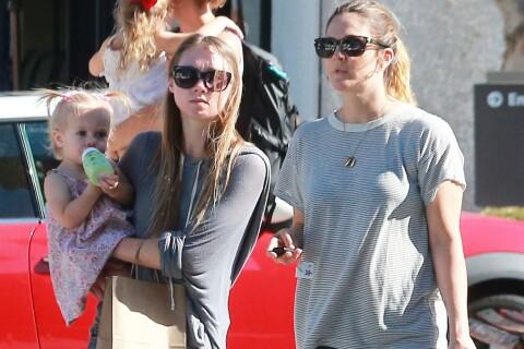 Drew Barrymore : Son adorable Frankie, trop mignonne avec ses couettes