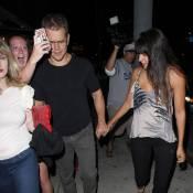 Matt Damon: Sortie en amoureux mouvementée...