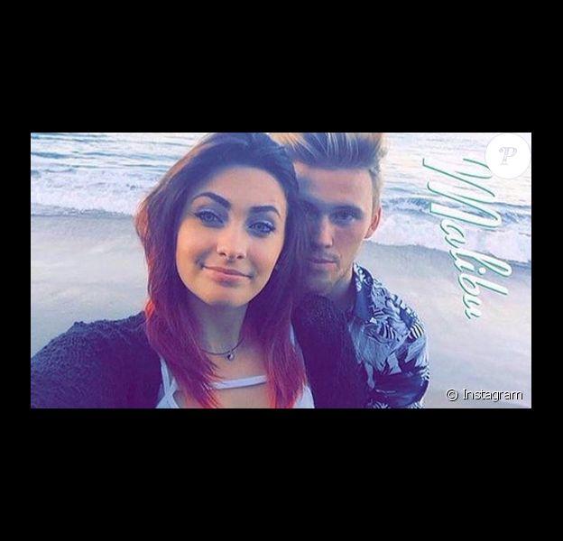 Paris Jackson et son petit-ami Chester à la plage à Malibu / aout 2015