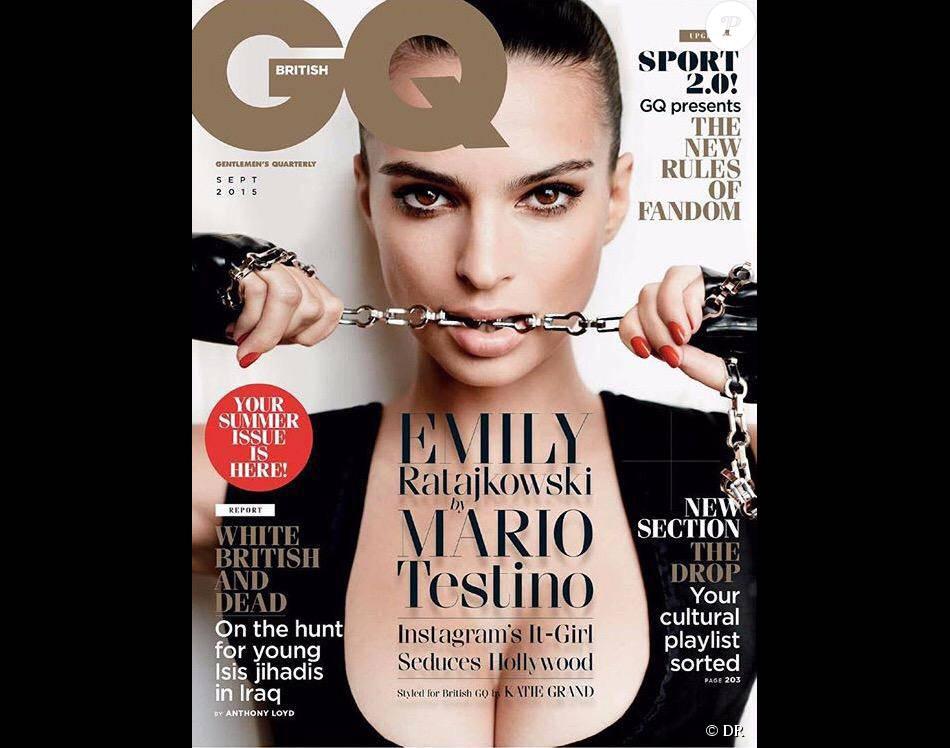 Emily Ratajkowski sur le magazine GQ Uk