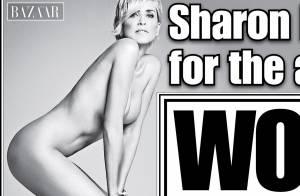 Sharon Stone, 57 ans : Nue pour Harper's Bazaar, elle montre tout !
