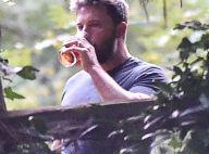 Ben Affleck fête ses 43 ans : Clopes, alcool et rares sourires avec ses enfants