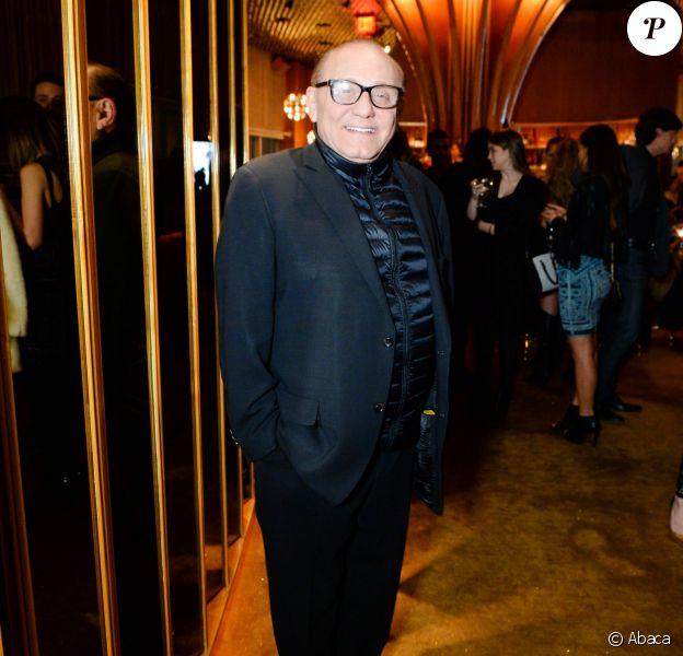 Max Azria à l'hôtel Standard à New York, le 14 février 2015.