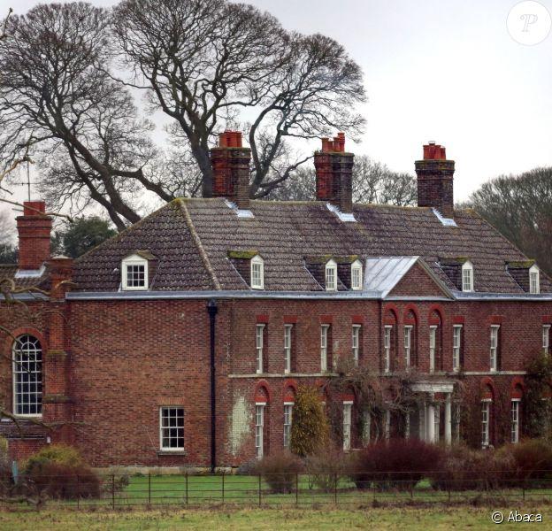 Anmer Hall, résidence privée du duc et de la duchesse de Cambridge, en janvier 2013. A l'été 2015, le couple a obtenu un permis de travaux pour un nouveau court de tennis.