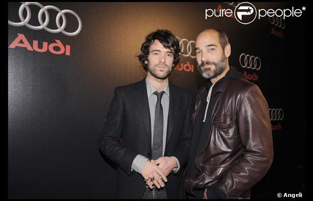Romain Duris et Jean-Marc Barr