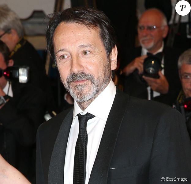 """Jean-Hugues Anglade - Montée des marches du film """"Shan He Gu Ren"""" (Mountains May Depart) lors du 68 ème Festival International du Film de Cannes, à Cannes le 20 mai 2015."""