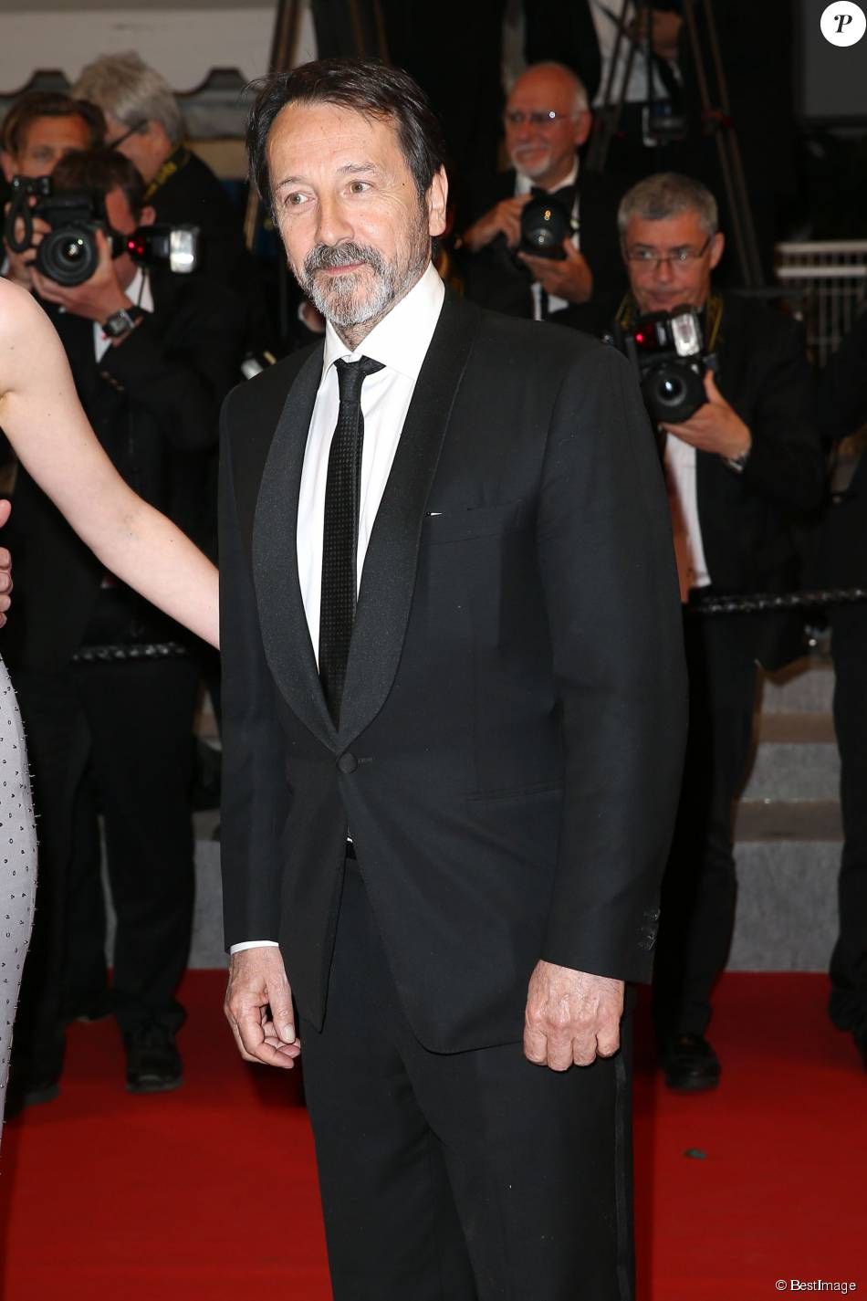 "Jean-Hugues Anglade - Montée des marches du film ""Shan He Gu Ren"" (Mountains May Depart) lors du 68 ème Festival International du Film de Cannes, à Cannes le 20 mai 2015."