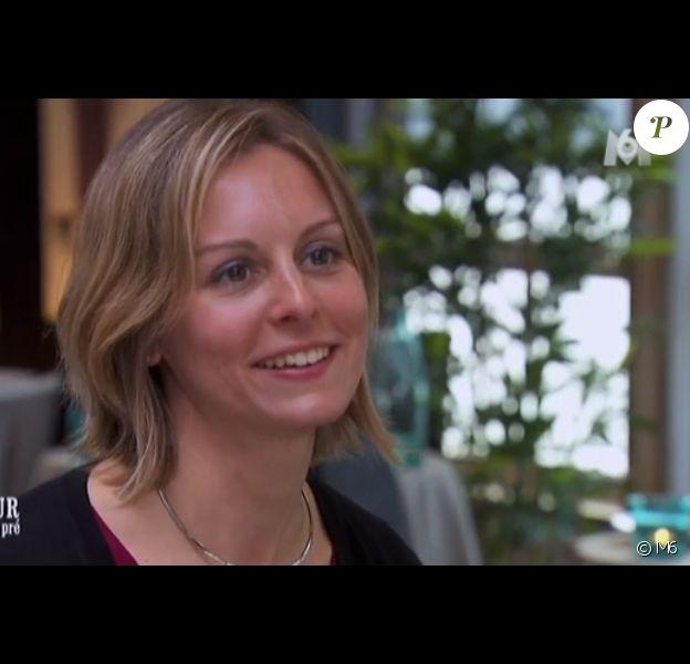 Carine, prétendante de Franck - L'amour est dans le pré 2015 sur M6, lundi 22 juin 2015.