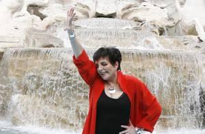 REPORTAGE PHOTOS : Liza Minnelli, un show... en pleine rue !