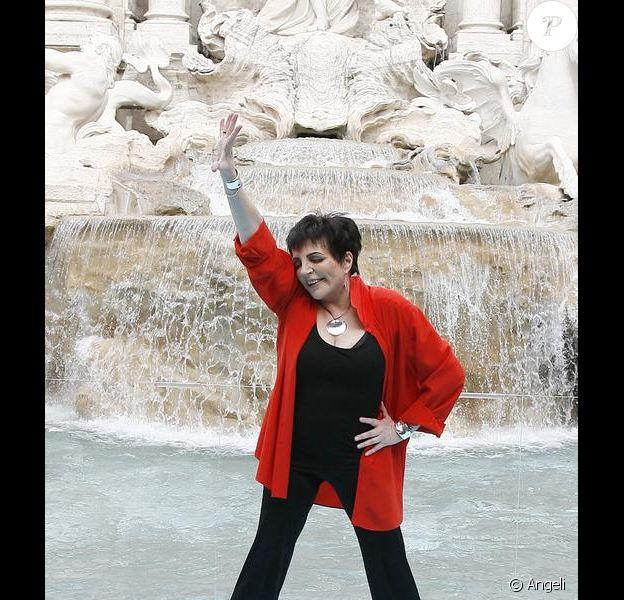 Lisa Minnelli, en plein show !