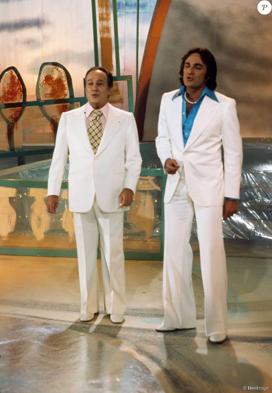 Archives - Tino Rossi et son fils Laurent Rossi, 1975