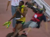 Usain Bolt renversé par un Segway : Le caméraman tente de se faire pardonner...
