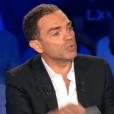 Yann Moix fait sa première comme polémiste dans  On n'est pas couché  sur France 2, le samedi 29 août 2015.
