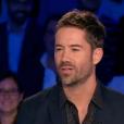 Emmanuel Moire, invité dans  On n'est pas couché  sur France 2, le samedi 29 août 2015.
