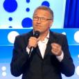 Laurent Ruquier présente  On n'est pas couché  sur France 2, le samedi 29 août 2015.