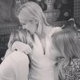 Kelly Rutherford et ses enfants / photo postée sur Instagram.