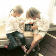 Helena et Hermes les enfants de Kelly Rutherford / photo postée sur Instagram.
