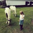 Helena la fille de Kelly Rutherford / photo postée sur Instagram.