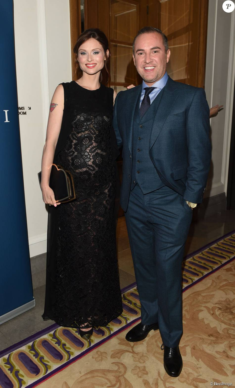 "Nick Ede, Sophie Ellis Bextor enceinte - Soirée ""Scottish Fashion Awards"" à Londres le 3 septembre 2015"