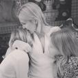 Kelly Rutherford et ses enfants Hermes et Helena / photo postée sur le compte Instagram de l'actrice.