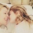 Kelly Rutherford et sa fille Helena / photo postée sur le compte Instagram de l'actrice.