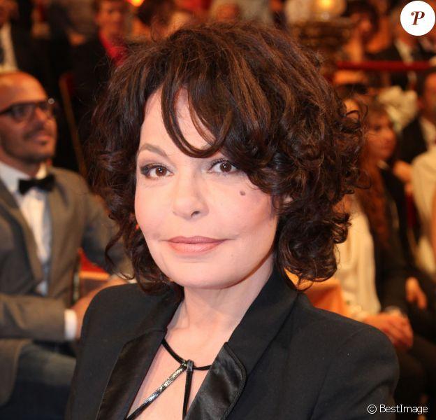 """Exclusif - Isabelle Mergault - Enregistrement de l'émission """"Le plus grand cabaret du monde"""", les 6 et 7 mai 2014 et qui sera diffusée le 7 juin 2014."""