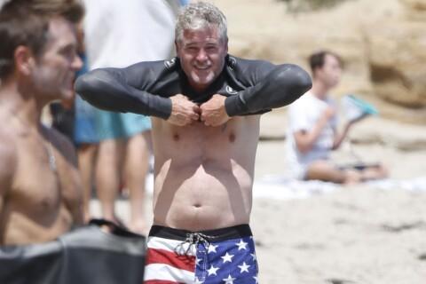 Eric Dane : Le docteur Glamour, sous le soleil avec sa femme, a bien grossi...