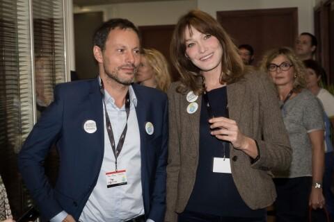 Carla Bruni-Sarkozy et Marc-Olivier Fogiel passent la journée au téléphone
