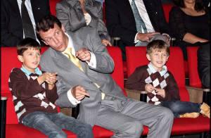 REPORTAGE PHOTOS : Le prince Joachim de Danemark, ses deux petits seront princes... des espions !