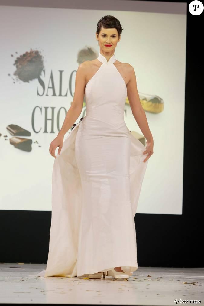 Eglantine em y d fil du 20e salon du chocolat 2014 au for Porte de versailles salon mariage
