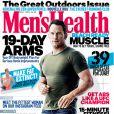 Chris Pratt en couverture du numéro de juillet 2015 de Men's Health.