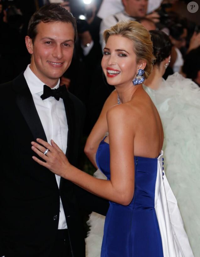 Jared Kushner et sa femme Ivanka Trump - Soirée Costume Institute Gala 2015 (Met Ball) au Metropolitan Museum, célébrant l'ouverture de Chine: à travers le miroir à New York. Le 4 mai 2015.