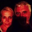 Photos de famille de Delphine Castex de Loft Story 1. Selfie avec son mari