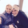 Photos de famille de Delphine Castex de Loft Story 1. In love avec son mari à la montagne
