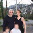 Photos de famille de Delphine Castex de Loft Story 1. Avec son mari François, et leurs deux fils