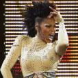 Janet Jackson en concert a Los Amgeles en Septembre 2008