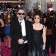 Tim Burton et Helena Bonham Carter lors de la cérémonie des Oscars 2013