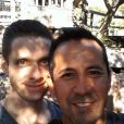 Danny Pintauro et son compagnon Wil Tabares, sur leur site internet.