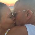 Bar Refaeli et son amoureux Adi Ezra qu'elle a épousé le 24 septembre 2015
