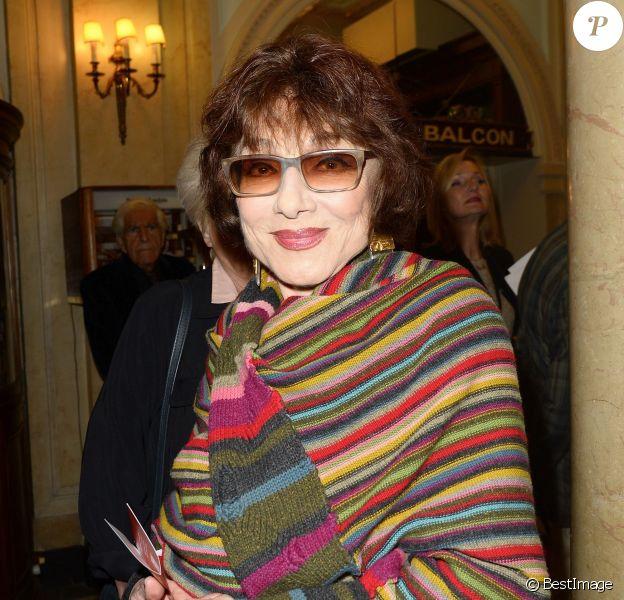 Judith Magre - 100 ans déjà ! - Hommage à Gisèle Casadesus au Théatre Edouard Vll à Paris le 29 septembre 2014. D