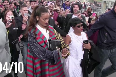 Rihanna à Paris : Restos, bars, boîte, et petite crise de panique...