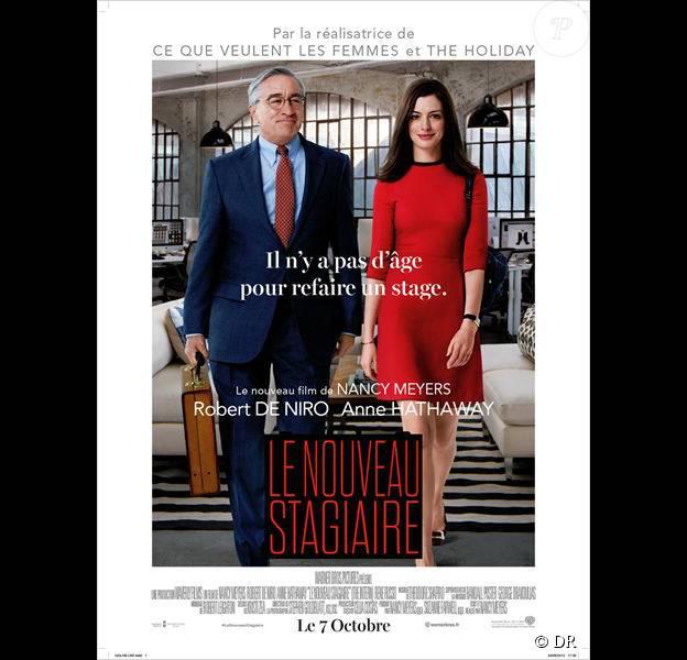 Affiche du film Le Nouveau Stagiaire, en salles 7 octobre
