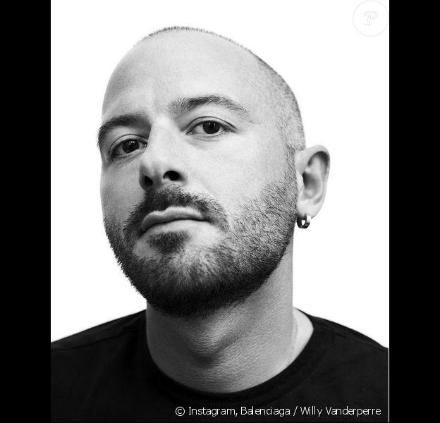 Le créateur géorgien Demna Gvasalia est le nouveau directeur artistique de Balenciaga. Photo publiée le 7 octobre 2015.