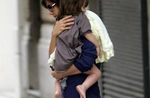 REPORTAGE PHOTOS : Katie Holmes se fait super belle et glamour pour... papa et maman !