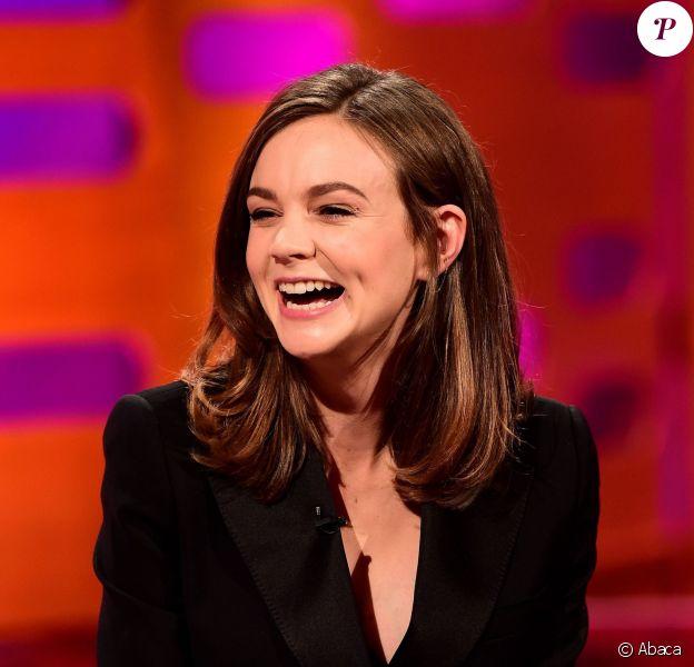 Carey Mulligan lors de l'émission The Graham Norton Show à Londres le 8 octobre 2015