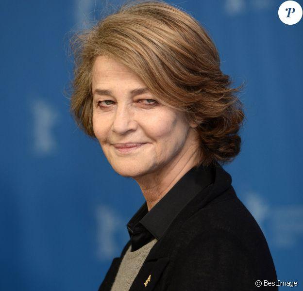 "Charlotte Rampling - Photocall du film ""45 years"" lors du 65e festival du film de Berlin, la Berlinale. Le 6 février 2015"