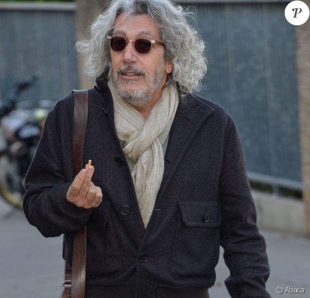 Alain Chabat sur le tournage de La Sortie de l'Usine Lumière à Lyon, le 17 octobre 2015.